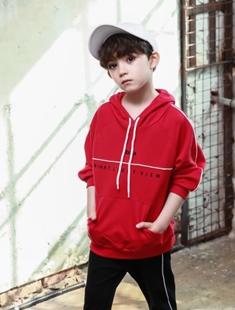 BLUR RUSH - BRAND - Korean Children Fashion - #Kfashion4kids - Piping Hood Tee