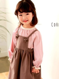 COHEN - BRAND - Korean Children Fashion - #Kfashion4kids - Hepburn Blouse