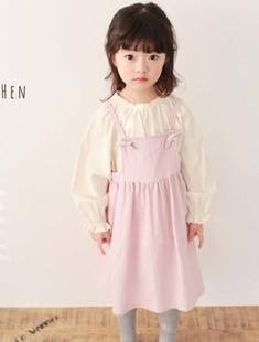 COHEN - BRAND - Korean Children Fashion - #Kfashion4kids - Jane Suspender Skirt