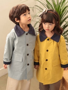 COHEN - BRAND - Korean Children Fashion - #Kfashion4kids - Trench Coat