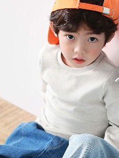 COHEN - BRAND - Korean Children Fashion - #Kfashion4kids - Basic Tee