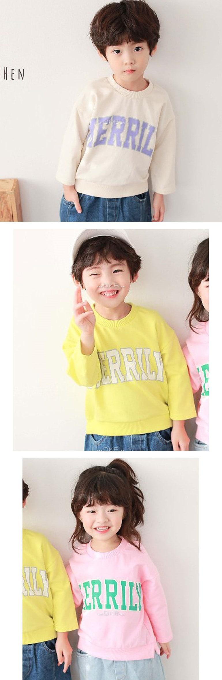 COHEN - Korean Children Fashion - #Kfashion4kids - Merrily Tee