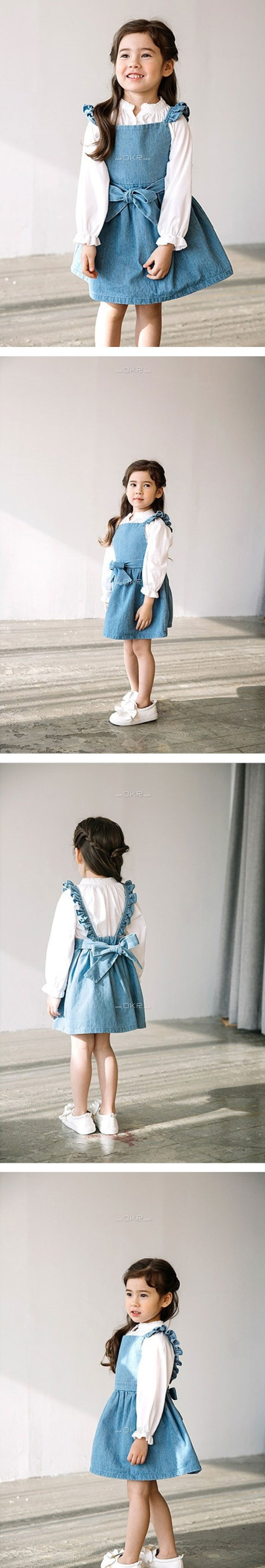 E.RU - Korean Children Fashion - #Kfashion4kids - Beauty Suspender Skirt
