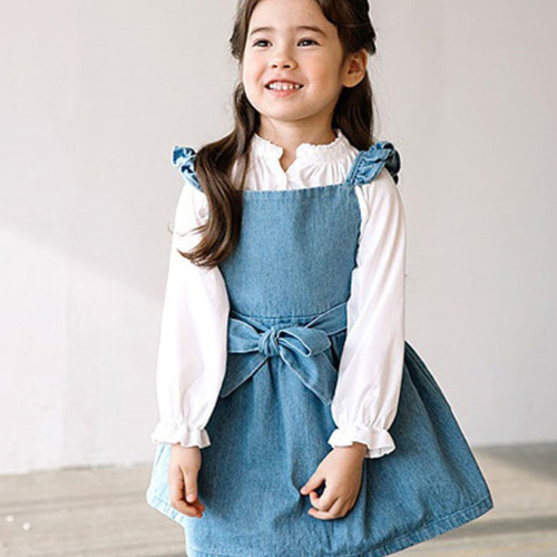 E.RU - BRAND - Korean Children Fashion - #Kfashion4kids - Beauty Suspender Skirt