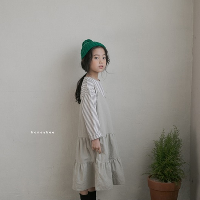 HONEYBEE - BRAND - Korean Children Fashion - #Kfashion4kids - String Dress