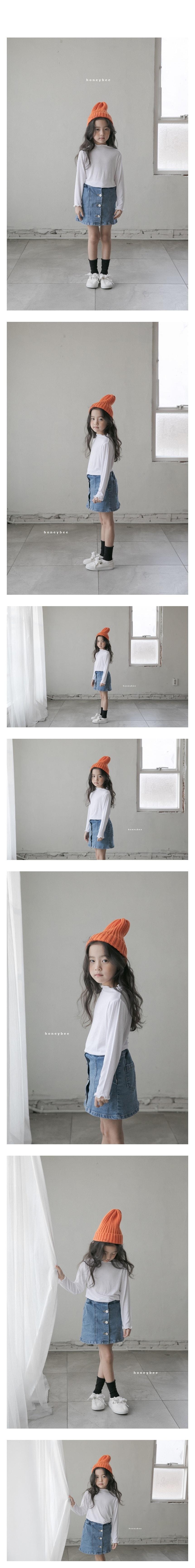 HONEYBEE - Korean Children Fashion - #Kfashion4kids - Rib Tee