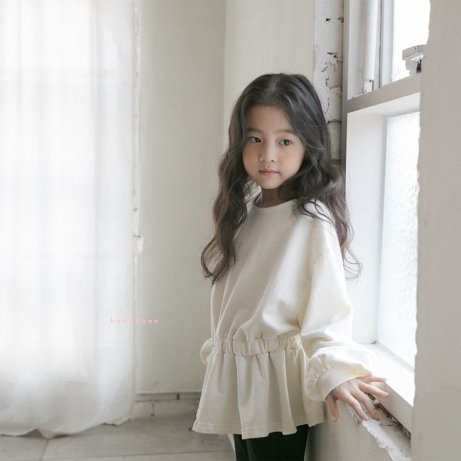 HONEYBEE - BRAND - Korean Children Fashion - #Kfashion4kids - MTM Frill Tee