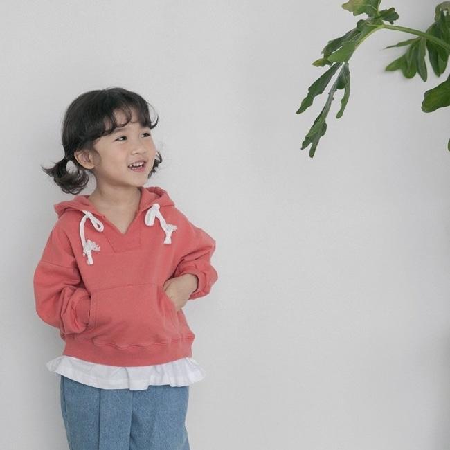 HONEYBEE - BRAND - Korean Children Fashion - #Kfashion4kids - Two Colors Hoody
