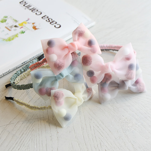 JIREH BOW - BRAND - Korean Children Fashion - #Kfashion4kids - Lidia Hairband [set of 5]