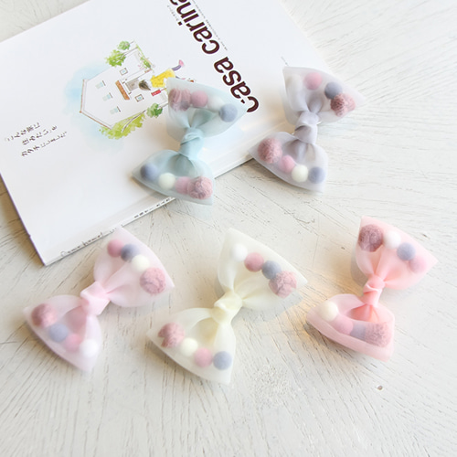 JIREH BOW - BRAND - Korean Children Fashion - #Kfashion4kids - Lidia Hairpin [set of 5]
