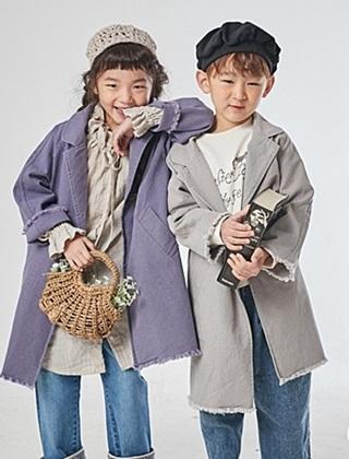 JM SNAIL - BRAND - Korean Children Fashion - #Kfashion4kids - Vintage Long Coat