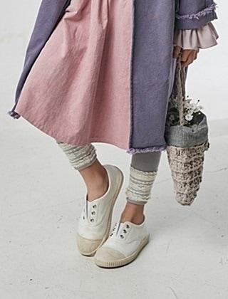 JM SNAIL - BRAND - Korean Children Fashion - #Kfashion4kids - Lace Leggings