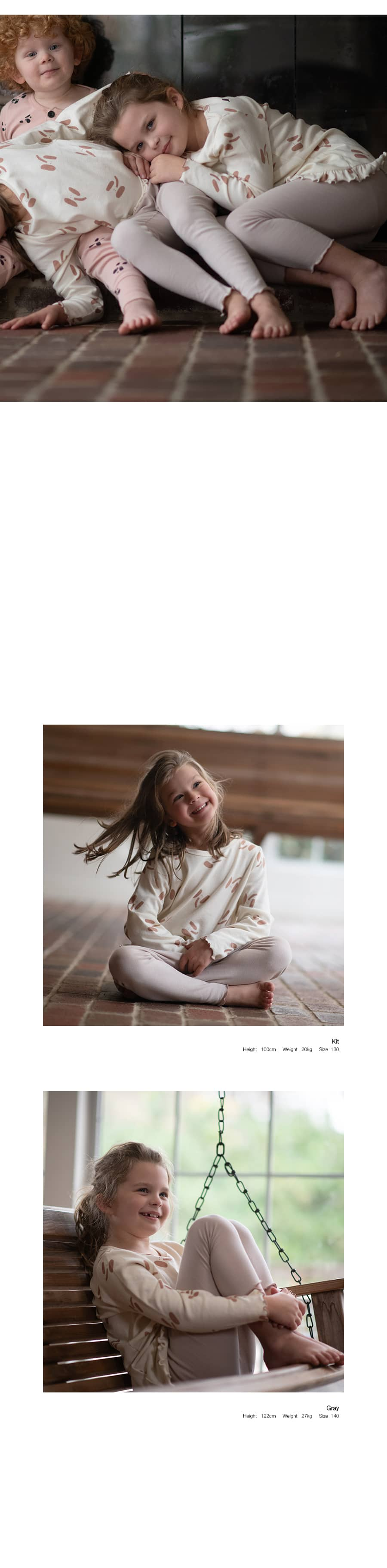 KOKACHARM - Korean Children Fashion - #Kfashion4kids - Elephant Dress Pants Set - 4