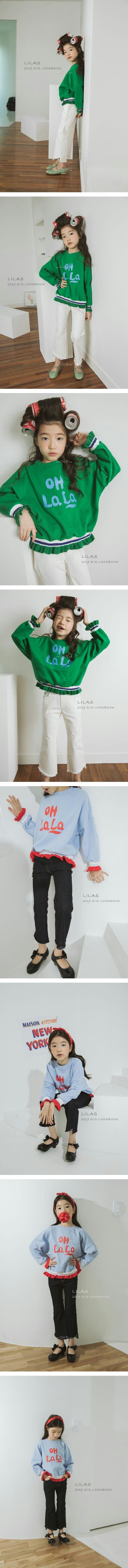 LILAS - Korean Children Fashion - #Kfashion4kids - Lala MTM Tee
