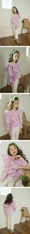 LILAS - Korean Children Fashion - #Kfashion4kids - Muse Frill Blouse