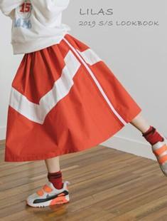 LILAS - BRAND - Korean Children Fashion - #Kfashion4kids - V Skirt
