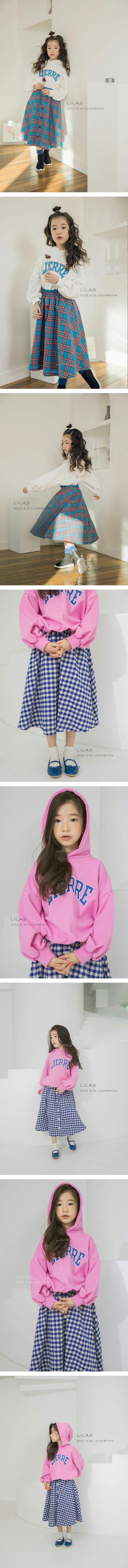 LILAS - Korean Children Fashion - #Kfashion4kids - Kinder Hood Tee