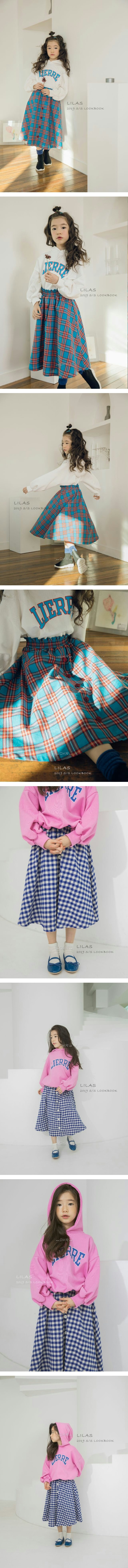 LILAS - Korean Children Fashion - #Kfashion4kids - Cherry Skirts