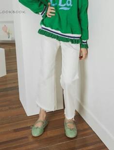 LILAS - BRAND - Korean Children Fashion - #Kfashion4kids - Zucca Bootscut Pants