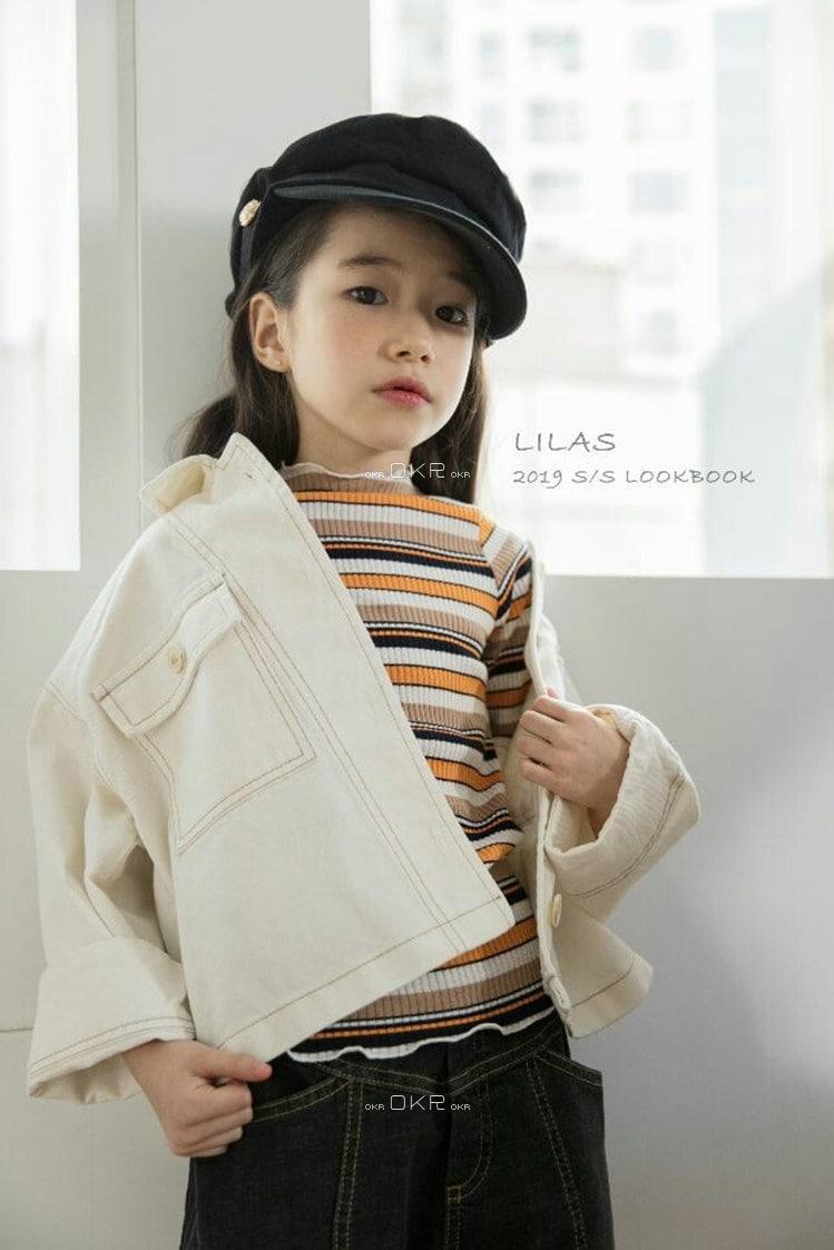 LILAS - Korean Children Fashion - #Kfashion4kids - Rib Tee