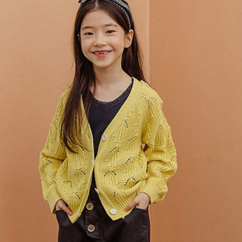 MILK POWDER - BRAND - Korean Children Fashion - #Kfashion4kids - Nare Knit Cardigan