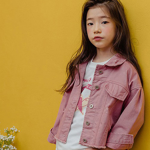 MILK POWDER - BRAND - Korean Children Fashion - #Kfashion4kids - Band Short Jacket