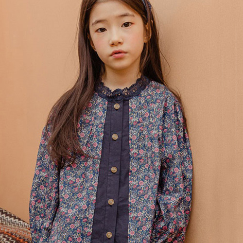 MILK POWDER - BRAND - Korean Children Fashion - #Kfashion4kids - Garden Blouse