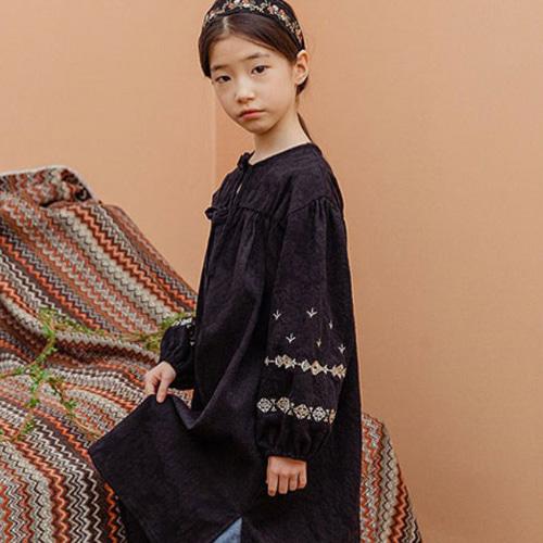MILK POWDER - BRAND - Korean Children Fashion - #Kfashion4kids - Rose Dress