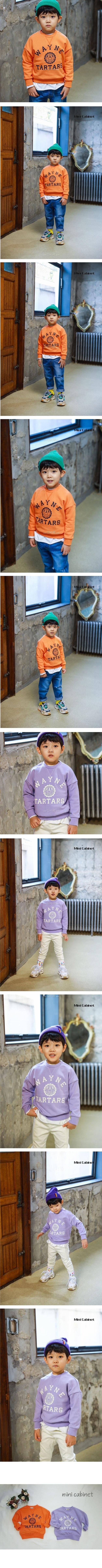 MINI CABINET - Korean Children Fashion - #Kfashion4kids - Mark Tee