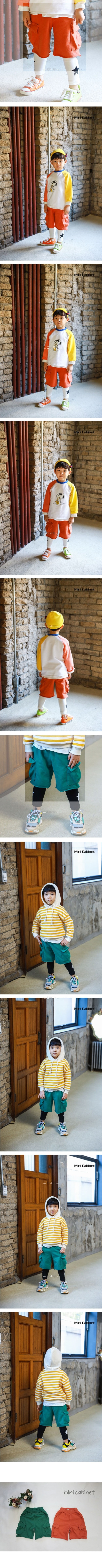 MINI CABINET - Korean Children Fashion - #Kfashion4kids - Biscuit Baggy Pants