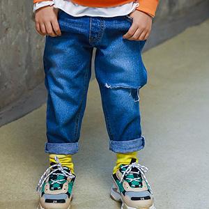 MINI CABINET - BRAND - Korean Children Fashion - #Kfashion4kids - Vintage Denim Pants
