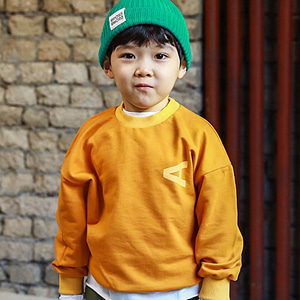 MINI CABINET - BRAND - Korean Children Fashion - #Kfashion4kids - A Round Tee