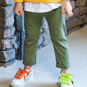 MINI CABINET - BRAND - Korean Children Fashion - #Kfashion4kids - Cotton Rib Pants