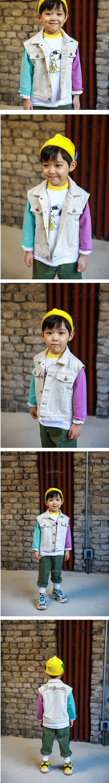 MINI CABINET - Korean Children Fashion - #Kfashion4kids - Cotton Vest