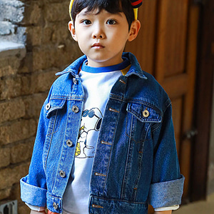 MINI CABINET - BRAND - Korean Children Fashion - #Kfashion4kids - Denim Jacket