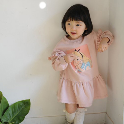 MOMO ANN - BRAND - Korean Children Fashion - #Kfashion4kids - Alice Dress