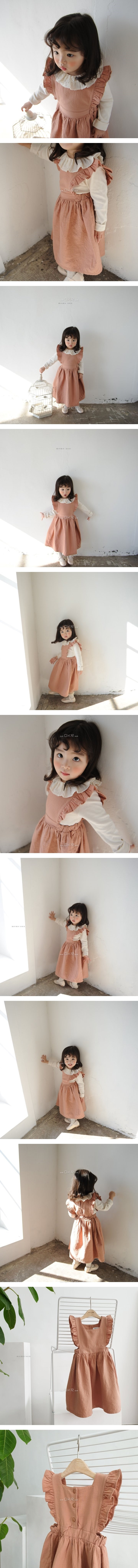 MOMO ANN - Korean Children Fashion - #Kfashion4kids - Lucy Frill Dress