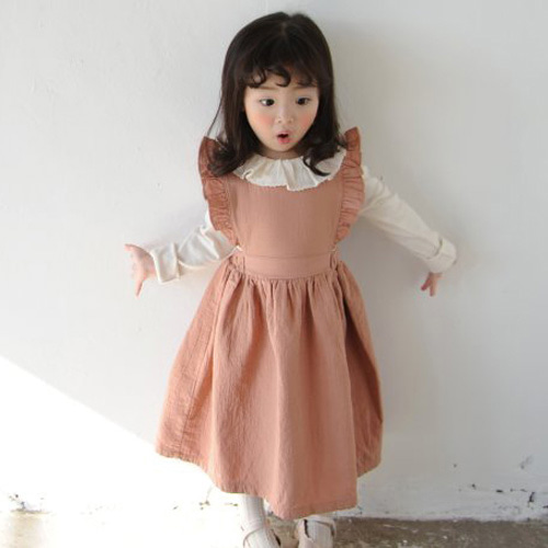 MOMO ANN - BRAND - Korean Children Fashion - #Kfashion4kids - Lucy Frill Dress