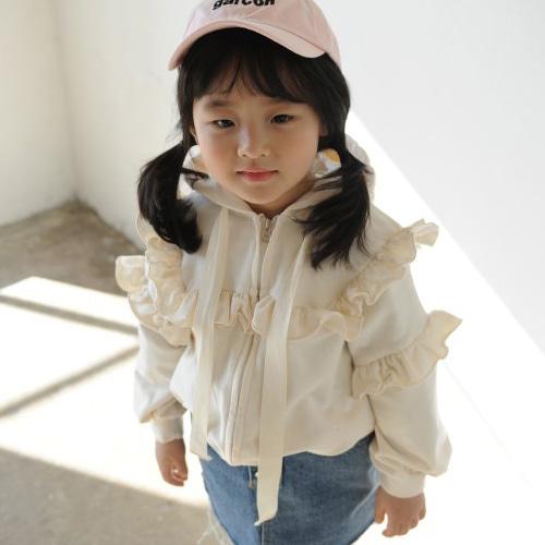 MOMO ANN - BRAND - Korean Children Fashion - #Kfashion4kids - Fill Zip Up