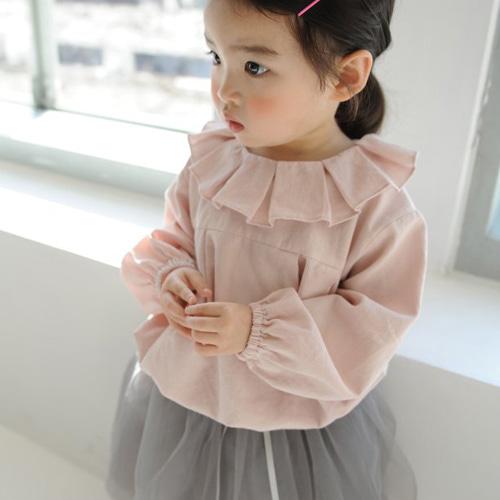 MOMO ANN - BRAND - Korean Children Fashion - #Kfashion4kids - Bom Bom Blouse