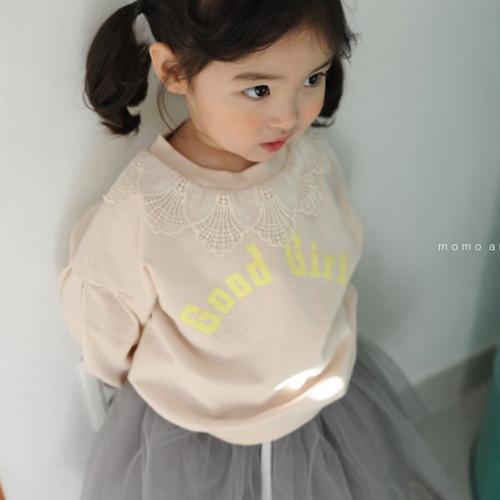 MOMO ANN - BRAND - Korean Children Fashion - #Kfashion4kids - Lace MTM Tee