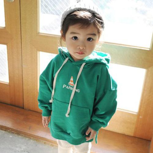 MOMO ANN - BRAND - Korean Children Fashion - #Kfashion4kids - Pointed Long MTM Tee