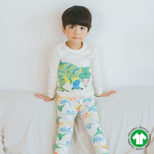 PUCO - BRAND - Korean Children Fashion - #Kfashion4kids - Welcome Dinosaur Easywear