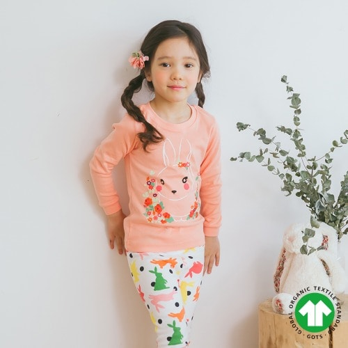 PUCO - BRAND - Korean Children Fashion - #Kfashion4kids - Dot Rabbit Easywear