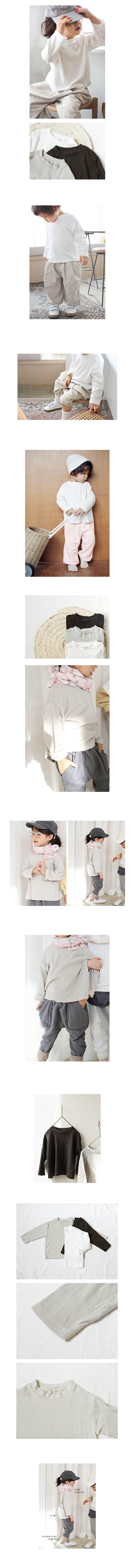 BIEN A BIEN - Korean Children Fashion - #Kfashion4kids - Lappen T-Shirt - 2