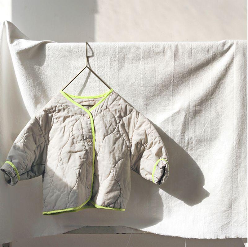 BIEN A BIEN - BRAND - Korean Children Fashion - #Kfashion4kids - Bruny Quilting Jacket