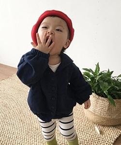CONCOCTER - BRAND - Korean Children Fashion - #Kfashion4kids - Marine Jacket