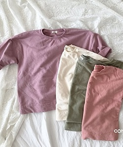 CONCOCTER - BRAND - Korean Children Fashion - #Kfashion4kids - Paris Box Long Tee