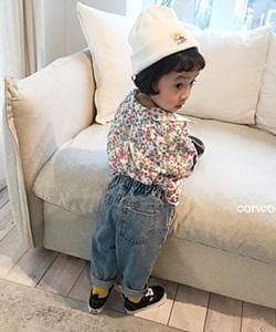 CONCOCTER - BRAND - Korean Children Fashion - #Kfashion4kids - Girly Flower Shirt
