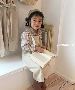 CONCOCTER - BRAND - Korean Children Fashion - #Kfashion4kids - Anna Suspender Skirt